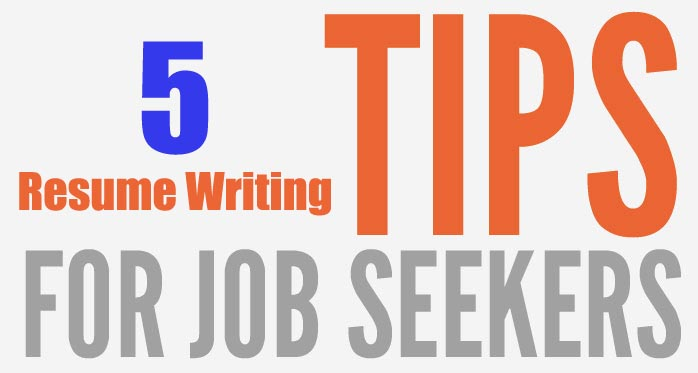 resume writing pointers